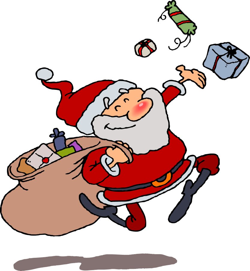 Free Clip Art Santa Claus 022 Gnurf Auto Design Tech