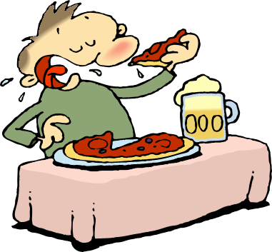 clipart eating breakfast