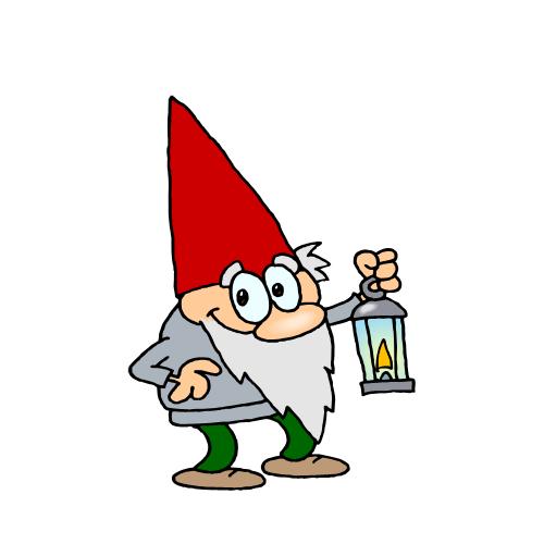 Gnome Clip Art: Gnomes In Minecraft!