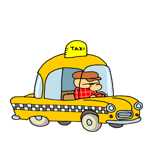 Free clip art     Yellow Cab Taxi 023Taxi Clipart